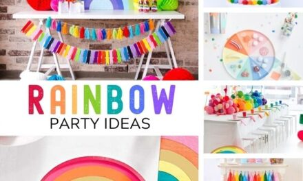 19 Colorful Rainbow Decorations + Party Ideas