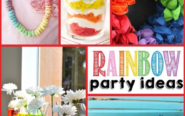 Rainbow Party Ideas for St. Patrick's Day + beyond!