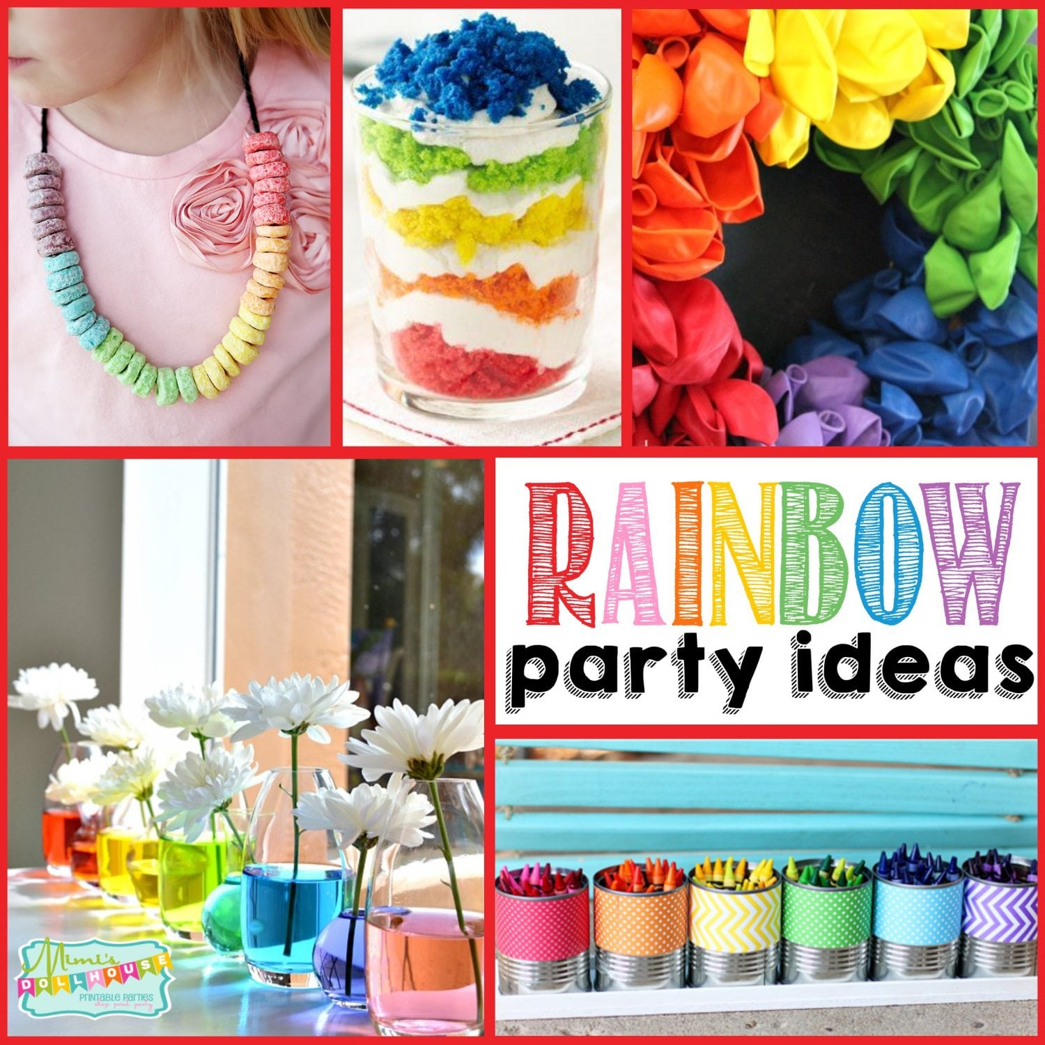 St. Patrick's Day: Rainbow Party Ideas