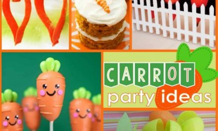 Fun + Festive Easter Carrot Decor + Craft Ideas