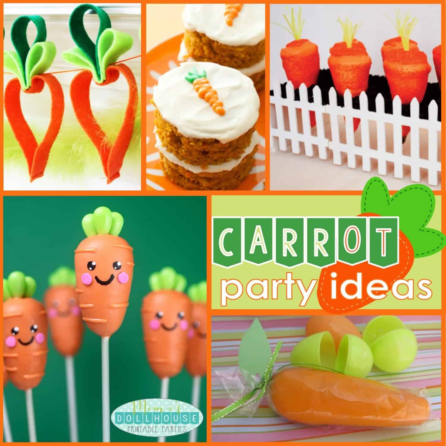 Easter: Creative Carrot Party Ideas for Easter