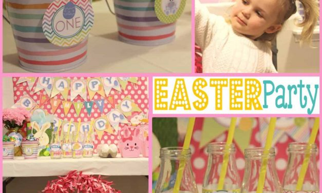Easter: Hoppy Birthday Party, Bunny Style.