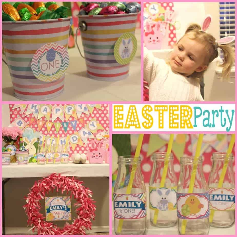 Easter: Hoppy Birthday Party, Bunny Style.