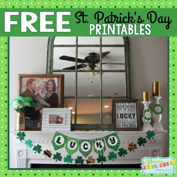 Free St. Patrick's Day Printables Pic