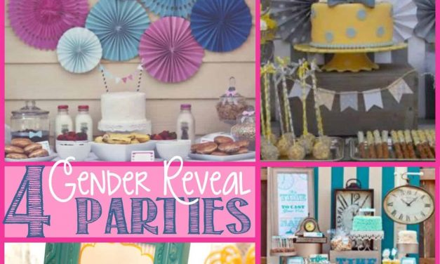 Gender Reveal Party: 4 Gender Reveal Parties you'll LOVE