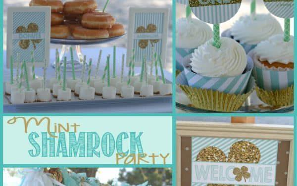 St. Patrick's Day: Eliana's Mint Shamrock Party
