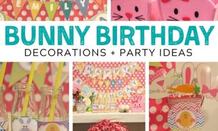 Bright + Bouncy Bunny Birthday Party