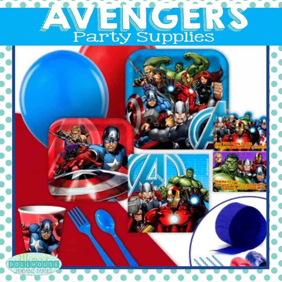 Superhero Party: Avengers Birthday Party Ideas
