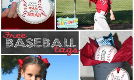 Baseball Party: Rice Krispies Treats®, Cal Ripken Jr. and some FREE printable tags