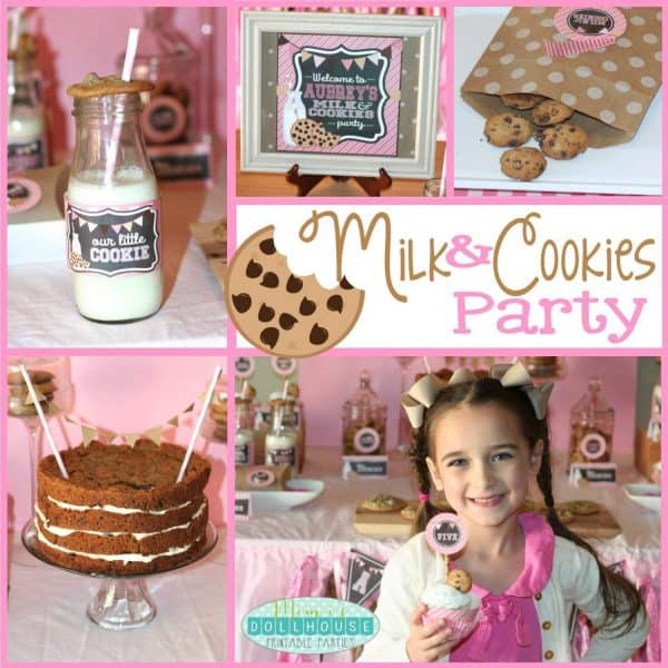 Milk and Cookies Party PIc