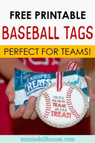 free printable baseball tags