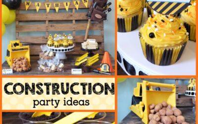 Easy DIY Construction Theme Party Ideas