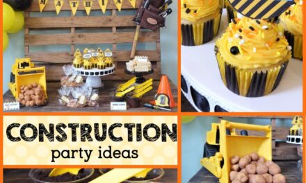 Easy DIY Construction Theme Party Ideas