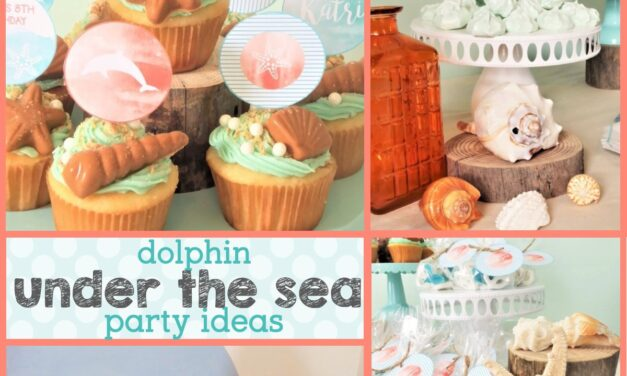 How to throw a Chic Dolphin Party on a Budget