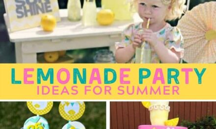 Summery + Sweet Lemonade Party Ideas