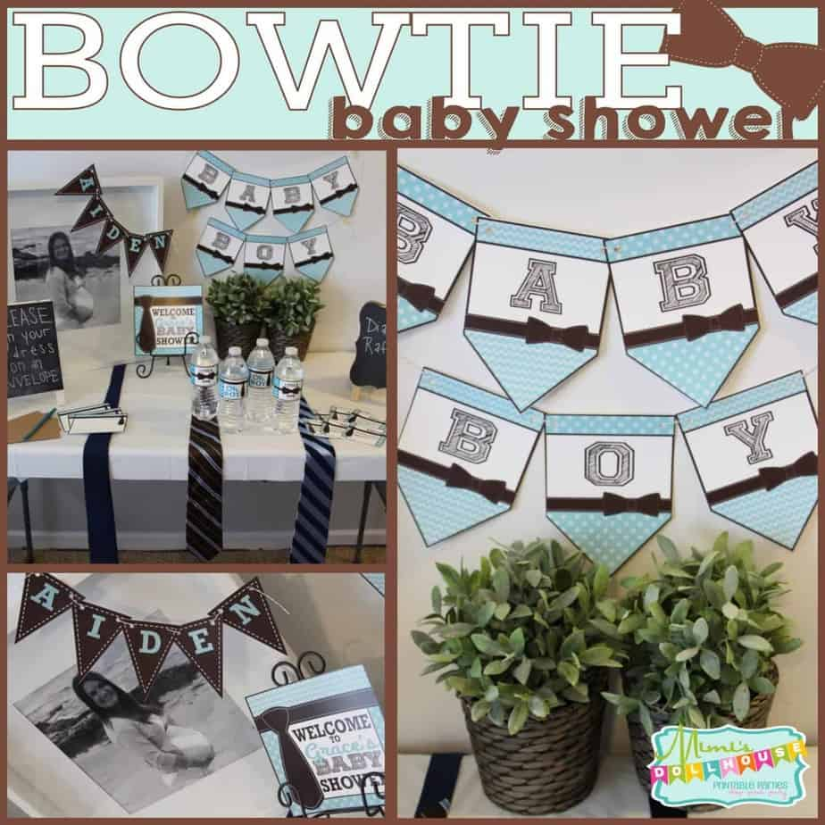 Baby Shower: Ties and Bowties, Oh My!