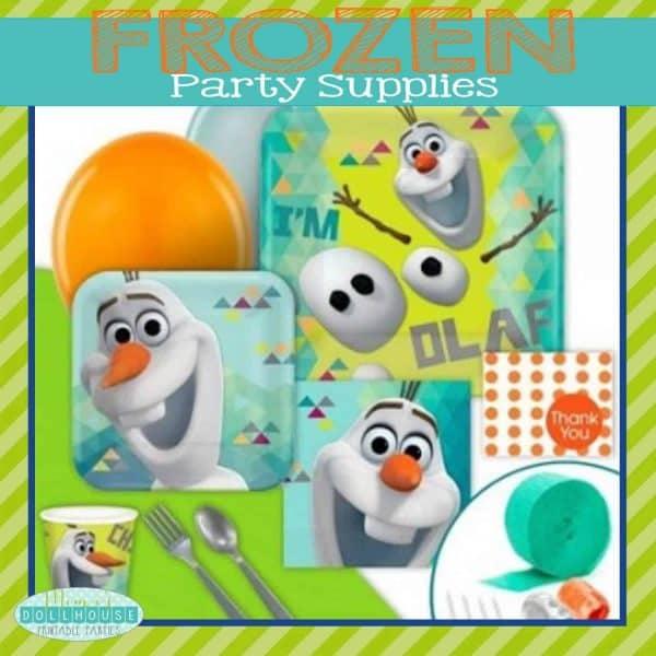 Frozen Party Supplies Pic