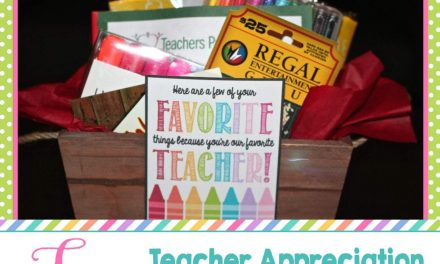 Teacher Appreciation Week: FREE Teacher Appreciation Gift Tags