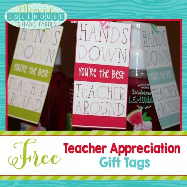 Teacher Tags-Hands