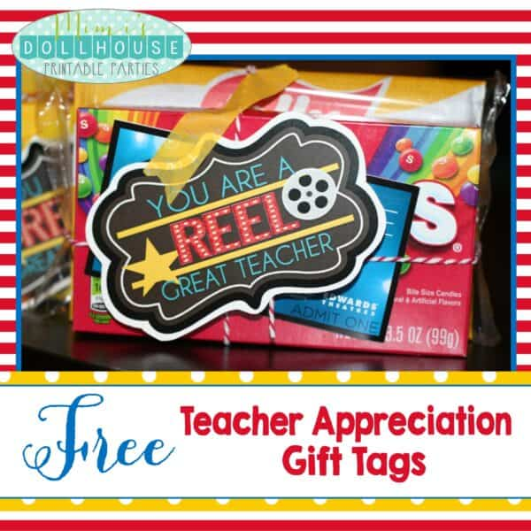photo regarding Extra Gum Teacher Appreciation Printable called Trainer Appreciation 7 days Recommendations + Cost-free Printables Mimis