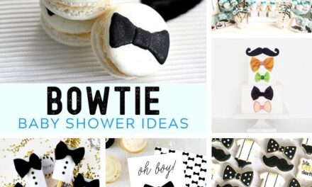 Dapper Bowtie Baby Shower Ideas