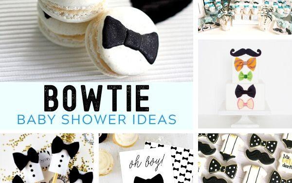 Dapper Bowtie Baby Shower Ideas