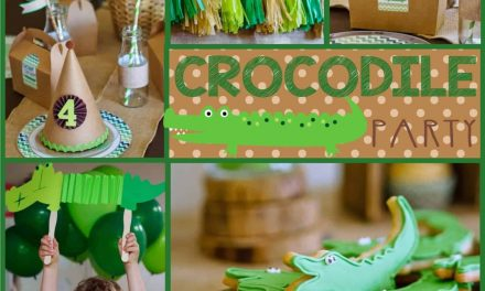 Tick Tock it's Crocodile Party Time!