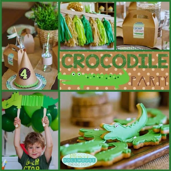 Crocodile Party Pic
