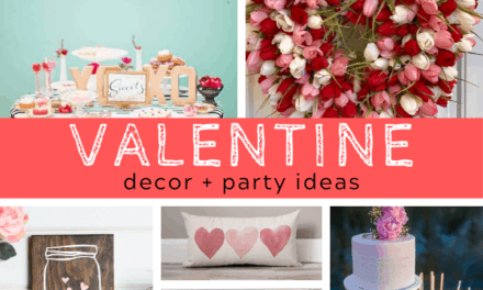 Breathtaking Valentine Decor + Party Ideas