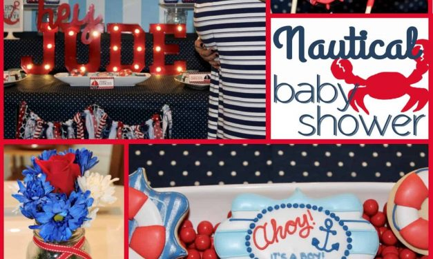 Ahoy! It's a Boy Nautical Baby Shower