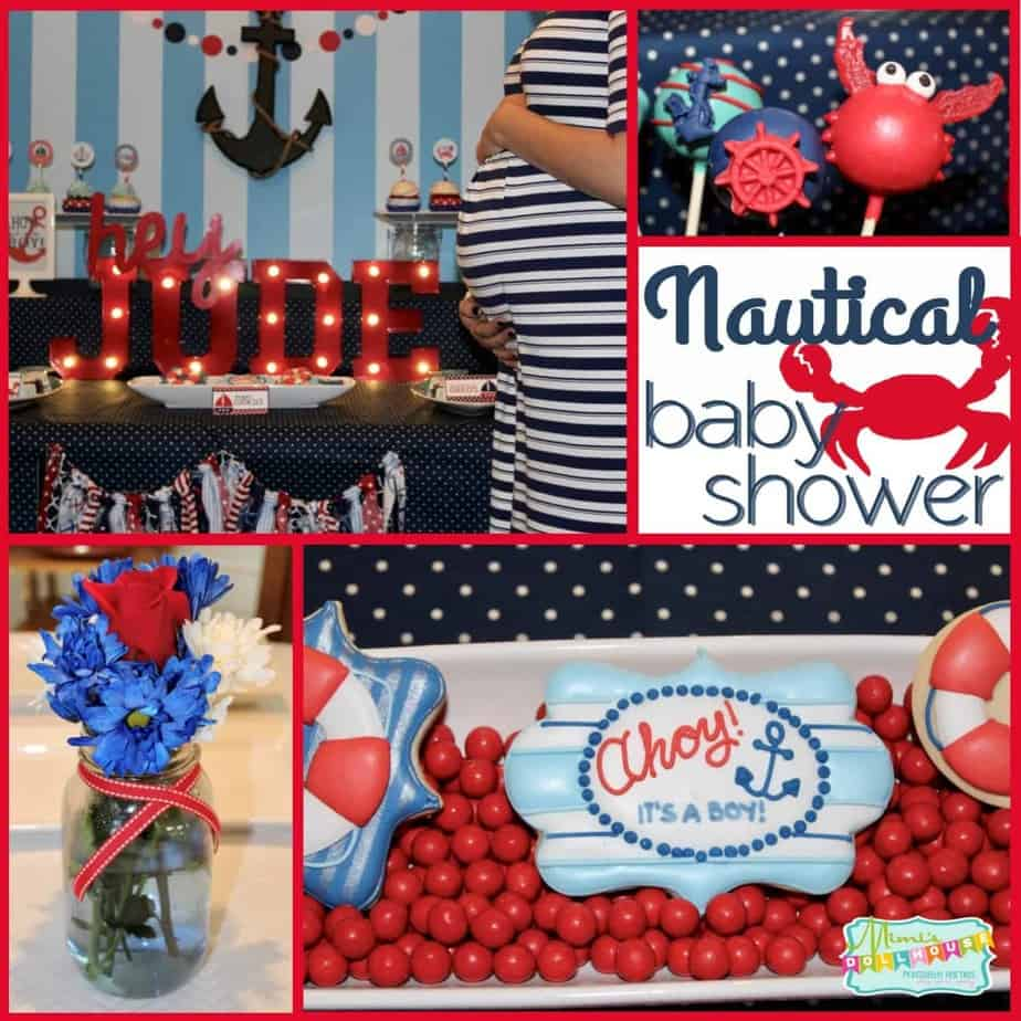 Nautical Party: Ahoy! It's a Boy