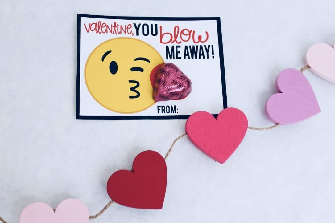 Emoji Valentines Free Printable Valentine S Day Cards Mimi S