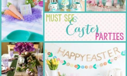 Beautiful + Trending Ideas for an Easter Party