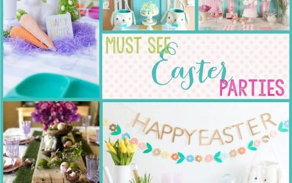Easter Decorations: Must see Easter Parties for Spring