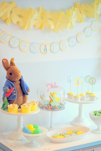 Easter themed party ideas: 10 must see Easter Parties for Spring. It's almost Easter time. Spring is one of my favorite seasons for parties and I'm sharing 10 beautiful MUST SEE Easter parties just in time for Spring.Be sure to check out all ourEaster Party Ideas and Inspiration. #party #easter #holiday #parties #partyideas #kidsparty #crafts #diy #baking #decorations