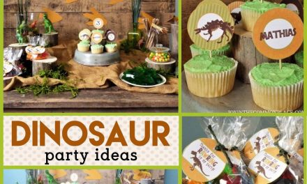 Rustic Dinosaur Birthday Party Decorations