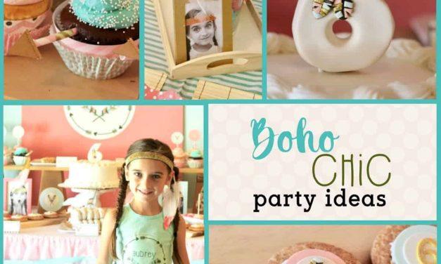 Boho Chic Party: Aubrey's Girly Tribal Birthday