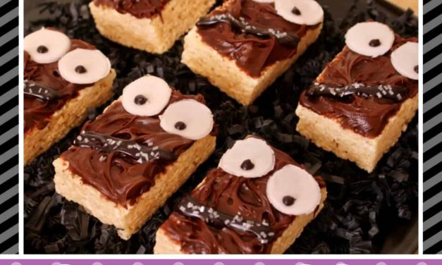 Star Wars: How to make Chewbacca Rice Krispie Treats