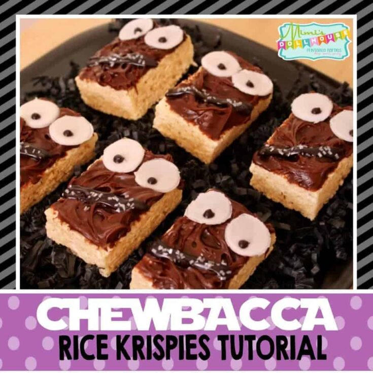 Chewbacca Rice Krispies Treats