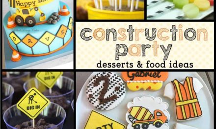 Marvelous Construction Party Food Ideas