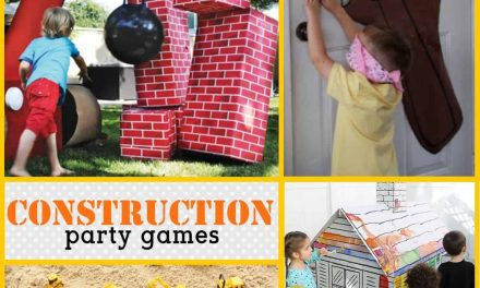 Super Fun Construction Party Games