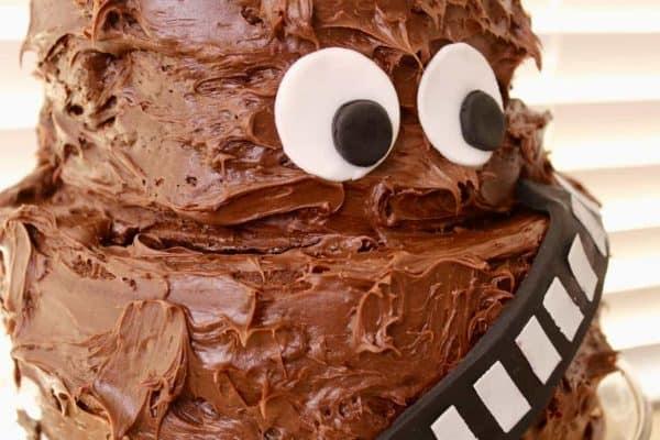 star wars how to make a chewbacca cake mimi s dollhouse