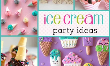 How to throw a Cool Ice Cream Party