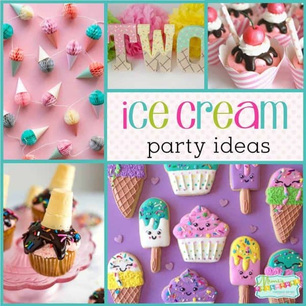 Superb How To Throw A Cool Ice Cream Party Mimis Dollhouse Funny Birthday Cards Online Eattedamsfinfo