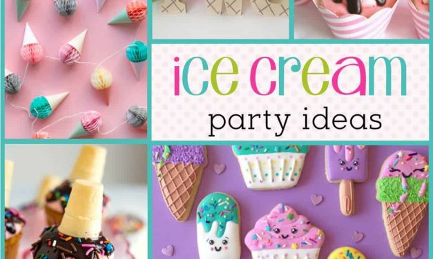 Summer Party Ideas: How to throw an Ice Cream Party