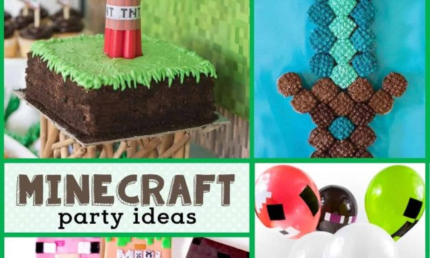 Minecraft Birthday Party: Ideas for a Minecraft Birthday