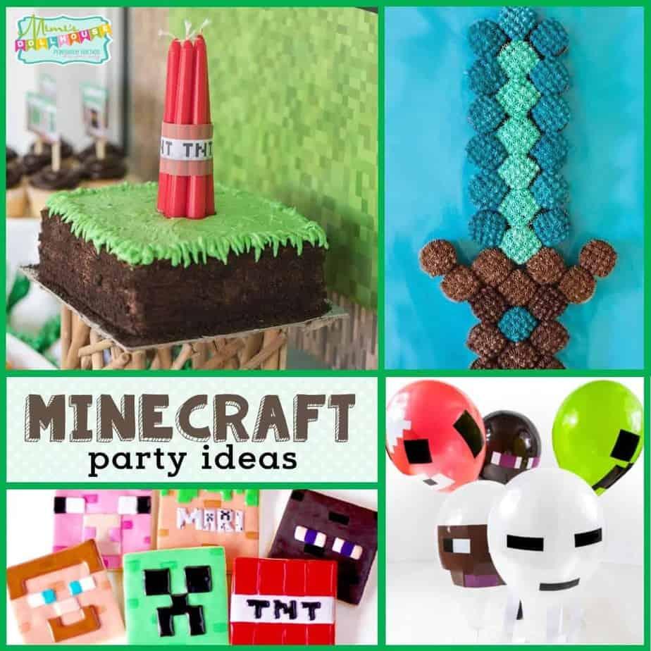 Minecraft Birthday Party Ideas For A Minecraft Birthday