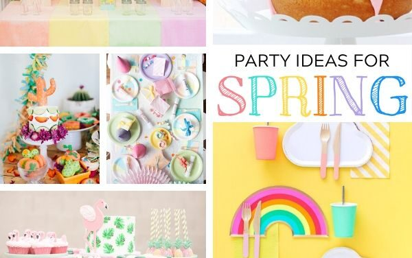 40 Spring Party Themes + Ideas