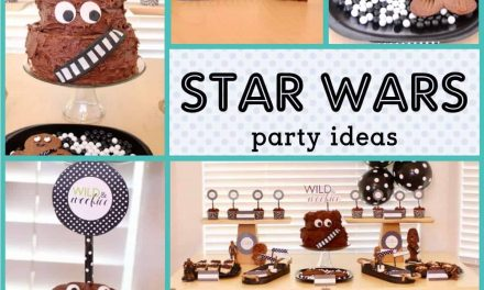 Wild & Wookie Party + DIY Chewbacca Cake