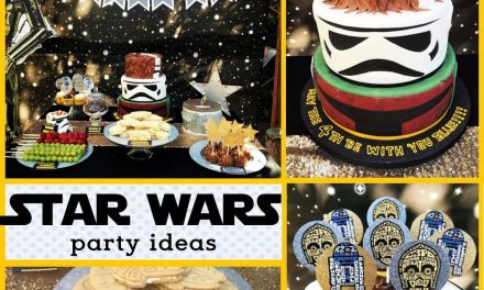 Star Wars Party Decorations: May the FOURS be with you!